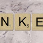 LinkedIn Business Profile Built Out Of Board Game Tiles
