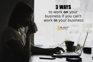 three ways to work on your business hero