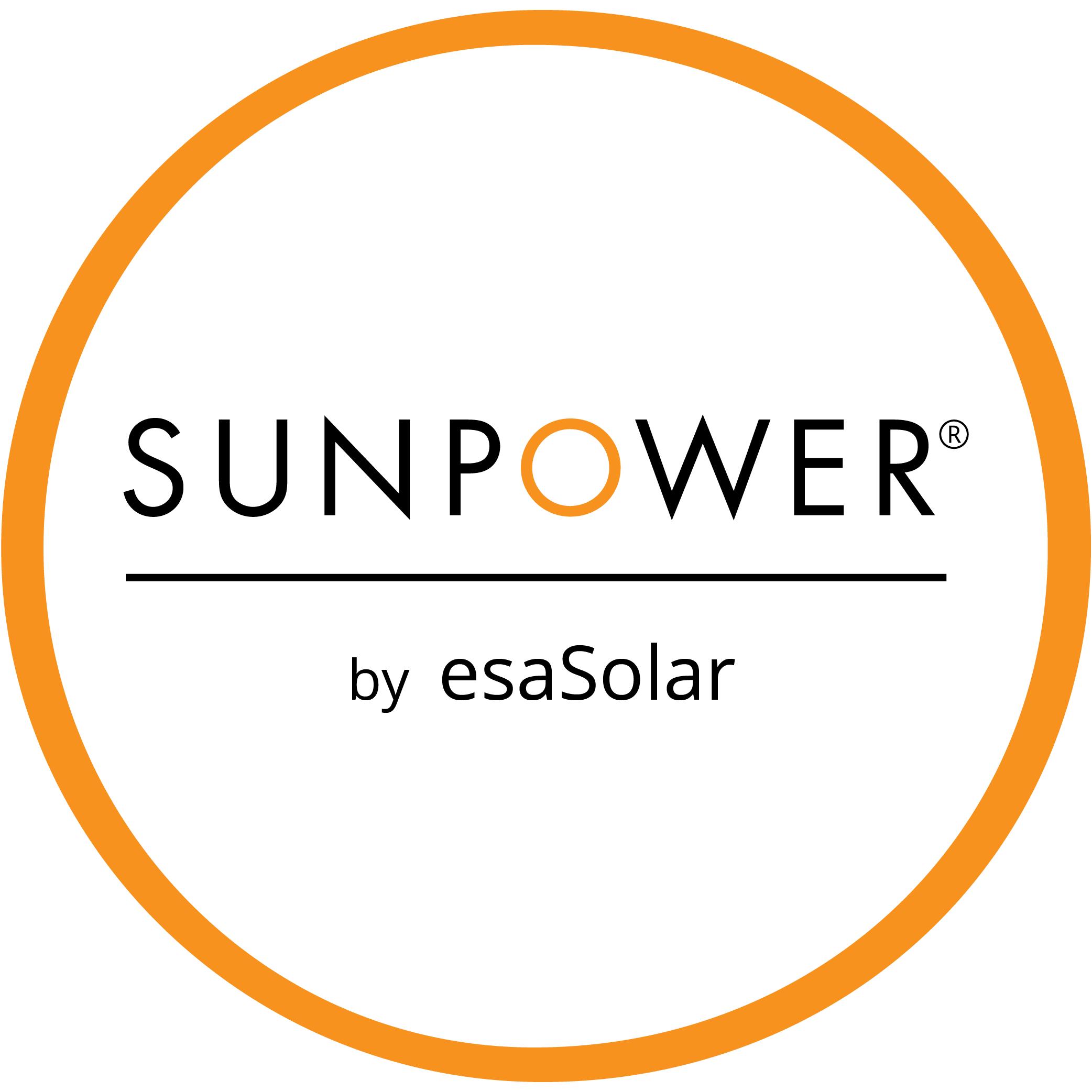 SunPower by ESA logo