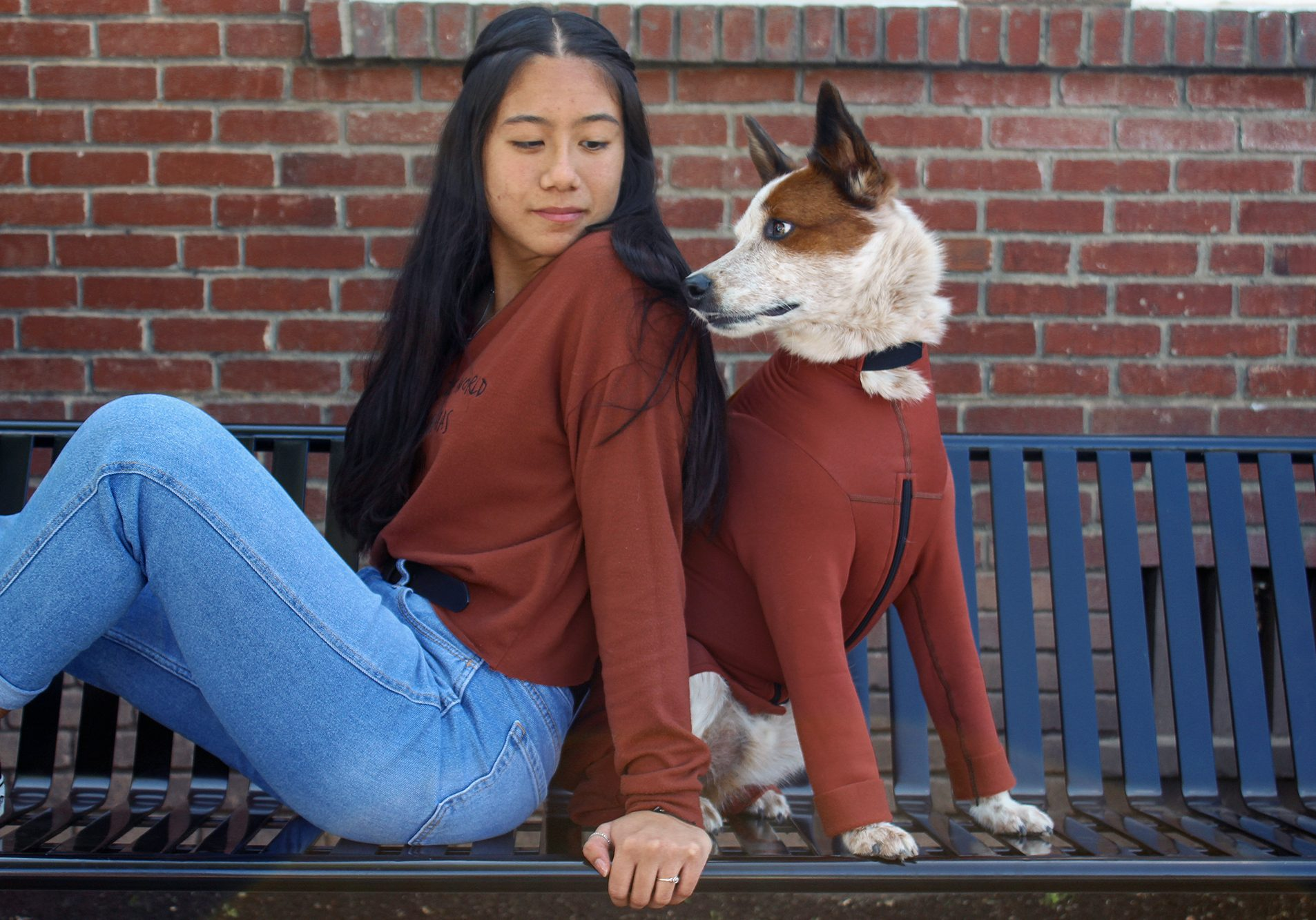 Co-founded in 1999 by June Lotz as a revolutionary way to protect our four-legged friends, K9 Top Coat designs and creates functional and fashionable bodysuits to solve common pet problems such as shedding, allergy relief and more.